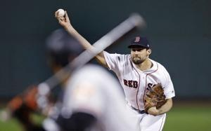 Red Sox beat Orioles 6-2 to clinch home field through Series