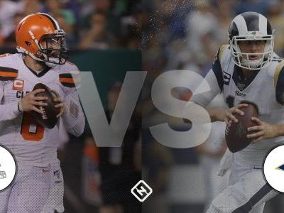 What channel is Rams vs. Browns on today? Time, TV schedule for 'Sunday Night Football' game