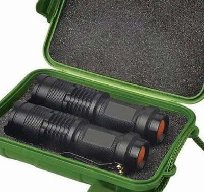 Last Minute Deal: UltraBright 500-Lumen Tactical Military Flashlight: 2-Pack