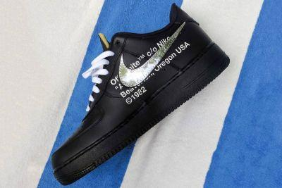 More Images of the OFF-WHITE X Nike Air Force 1 Surfaces in Miami