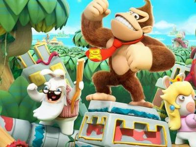 Mario + Rabbids: Donkey Kong Adventure DLC Out on June 26th