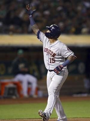 Matt Olson homers in 10th, A's pull within game of Astros