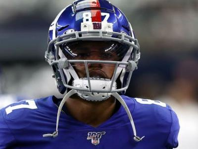 NFL, NFLPA reviewing why Giants' Sterling Shepard didn't leave game after concussion, reports say