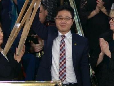 The most emotional moment of the State of the Union came when Trump told the story of a North Korean defector who raised his crutches in triumph