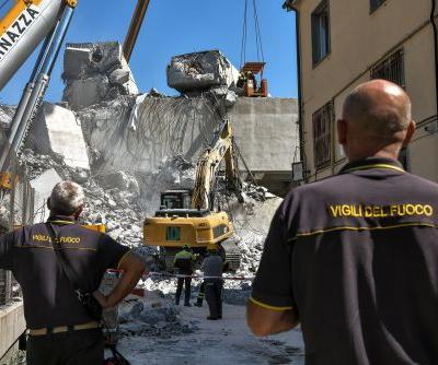 Italian rescue teams still hunting for survivors after bridge collapse