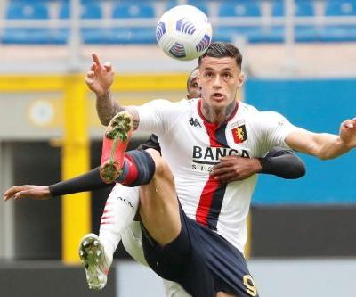 Scamacca's own goal helps AC Milan to 2-1 win over Genoa