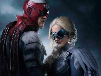 First Look at Hawk and Dove in DC's Titans!