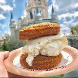 Magic Kingdom Is Officially Selling Churro Ice Cream Sandwiches, and What Took So Long?