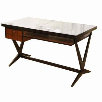 20 Best Of Black Glass top Desk Pictures