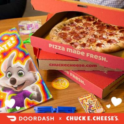 Chuck E. Cheese's Valentine's Day 2019 Deal With DoorDash Is A Delicious Celebration