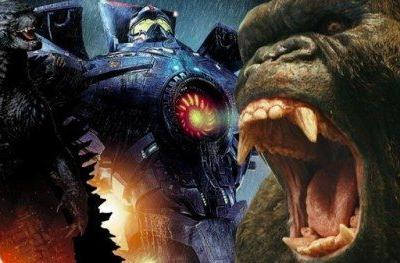 Pacific Rim Crossover with Godzilla and King Kong May