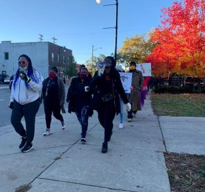 """Dozens walk to """"stop the violence"""" in Grand Rapids"""