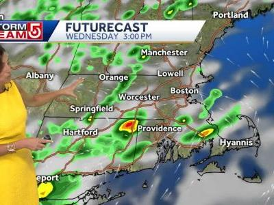 Video: Storms may bring heavy rain, damaging winds