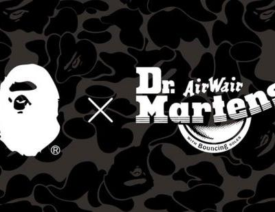 Dr. Martens x A Bathing Ape to launch end of January