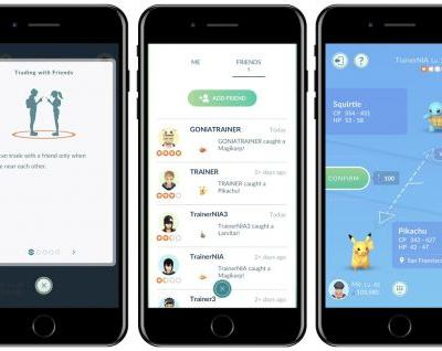 Pokémon Go Gaining Ability to Trade Pokémon With Nearby Friends This Week