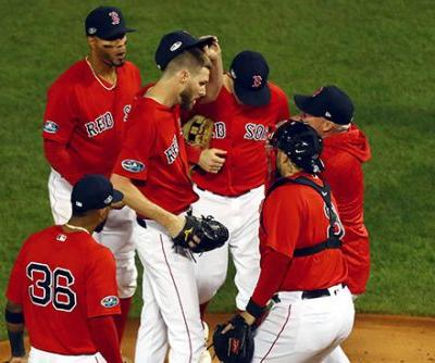 Chris Sale hospitalized with illness as Red Sox earn split