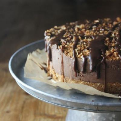 Chocolate Speculoos Ice Cream Cake