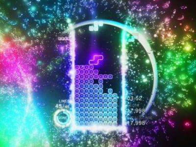 Watch a master play Tetris Effect live