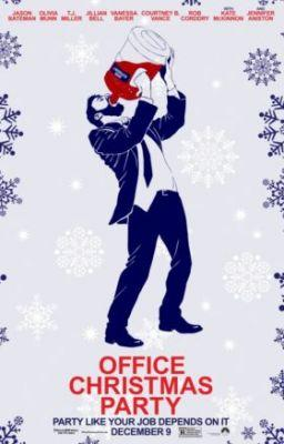 New Posters of Office Christmas Party