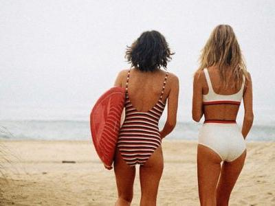 Keep It Classic at the Beach with These 21 Striped Swimsuits