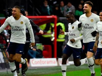 Mbappe helps PSG to beat St Etienne and extend lead