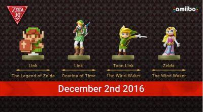 Beautiful new Zelda Amiibo's inbound