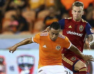 Rusnak's stoppage time brace helps Real Salt Lake steal road win at Houston