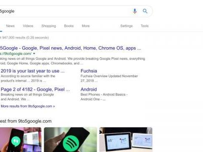 Google Material Theme begins rolling out to Google Search on desktop web