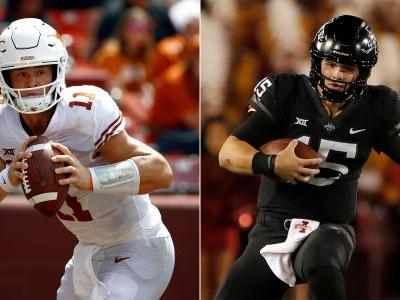No. 18 Iowa St-No. 13 Texas matches Big 12 title contenders