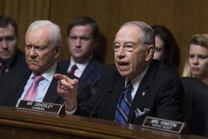 Canada and Mexico will act on new NAFTA once tariffs end, Grassley says