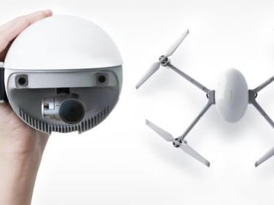 PowerEgg X is a Weatherproof Drone, Camcorder, and Webcam All-In-One