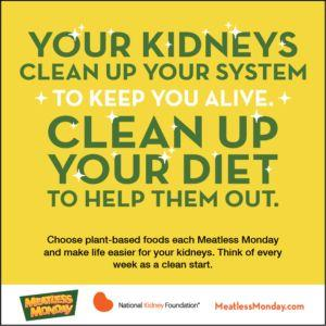 Healthier You Series: Go Meatless Monday for Kidney Health