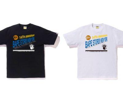 BAPE Celebrates Its New York Flagship's 14th Anniversary With Celebratory Tees