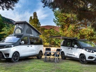 These Toyota Proace Campers Take An Old School Approach To Modern Car Camping
