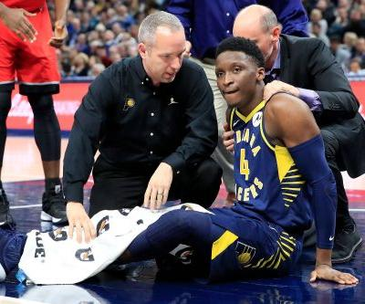 Pacers' Victor Oladipo suffers possible season-ending knee injury