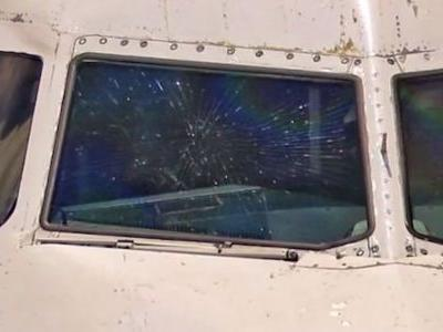 Plane makes emergency landing after windshield shatters during flight