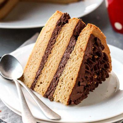 White Wine Chocolate Layer Cake