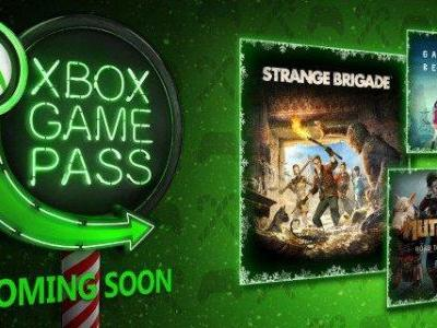 Xbox Games Pass adds three new titles
