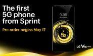 Verizon's Galaxy S10 5G is available now, Sprint's LG V50 ThinQ 5G goes on pre-order