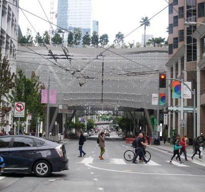 San Francisco's new $2.2 billion transit center, the 'Grand Central Station of the West,' is officially open to the public - take a look around