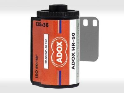ADOX HR-50 is a New Monochrome Film for 35mm, 120, and 4×5
