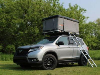 I Slept on the Roof of a Honda Passport to Prove That Hotels Are for Suckers