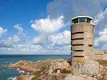 Radio tower in Jersey built during WWII by the Nazis is now a stunning three-bedroom holiday home