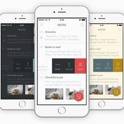 Bear Notes 1.3 for iOS Adds Multitasking 'Drop Bar' and Apple Watch Support