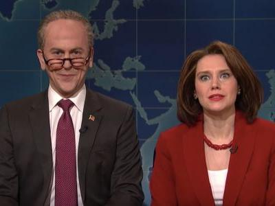 On 'SNL,' 'Chuck Schumer' and 'Nancy Pelosi' tried not to gloat about shutdown victory over Trump