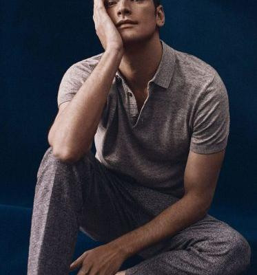Sean O'Pry Sports 'New Smart Casual' Style for Massimo Dutti