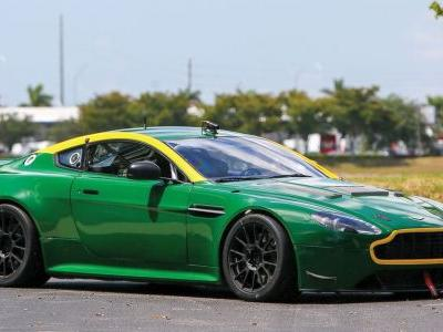 Dominate Your Next Track Day With A Retired Aston Vantage GT4 Racer