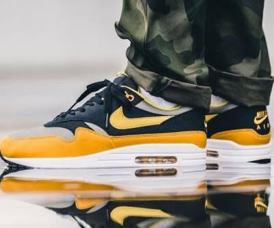 "An On-Feet Look at the Nike Air Max 1 ""Elemental Gold"""