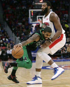 Horford, Irving help Celtics beat Pistons, 91-80