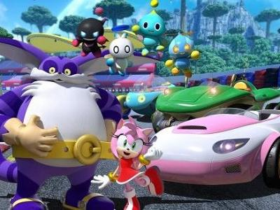 Team Sonic Racing Gets New Playable Characters Amy Rose, Big the Cat, and Four Chao